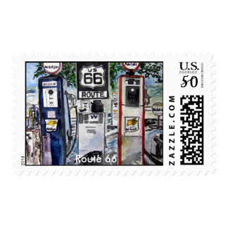 route_66, Route 66 Postage