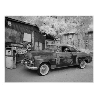 Route 66 Rust Print