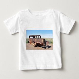 Route 66 Rusty Hot Rod Rt 66 USA Petroliana Car Tr Baby T-Shirt