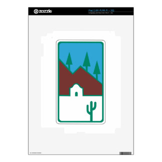 Route 66 - Scenic Road Decals For The iPad 2