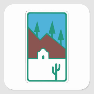 Route 66 - Scenic Road Stickers
