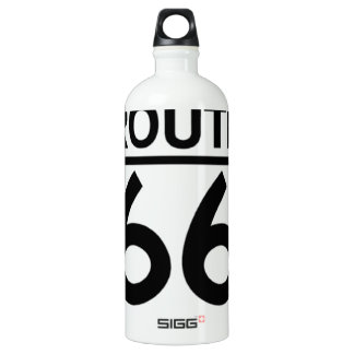 route 66 shield with shadow SIGG traveler 1.0L water bottle