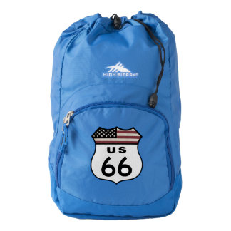 Route 66 Sign High Sierra Backpack