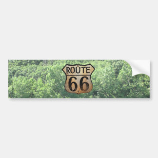 Route 66 Sign - Multiple Products Bumper Sticker