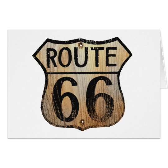 Route 66 Sign - Multiple Products Card