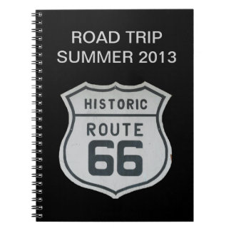 Route 66 Sign Notebook