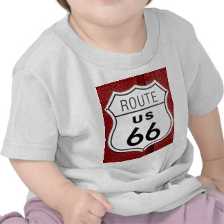Route 66 Sign T Shirts