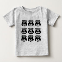 Route 66 Signs Baby T-Shirt