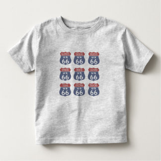 Route 66 Signs Toddler T-shirt