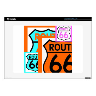 Route 66 skin for laptop