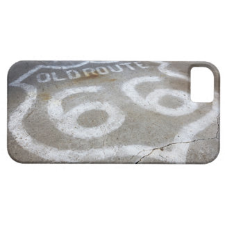 Route 66 Spray Painted on Road, Alanreed, Texas, iPhone SE/5/5s Case