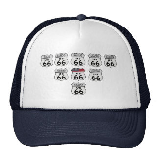 Route 66 States Trucker Hat