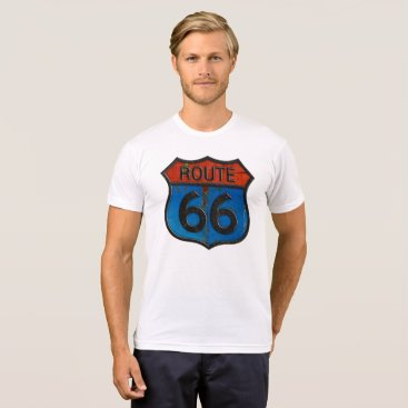 USA Themed Route 66 T-Shirt