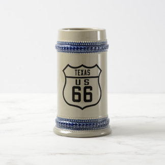 Route 66 - Texas Beer Stein