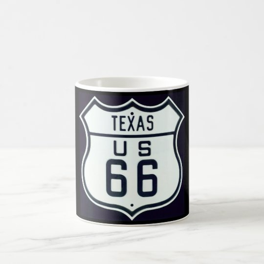 Route 66 Texas Coffee Mug