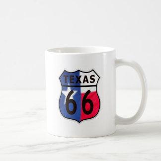 Route 66 Texas Color Coffee Mug