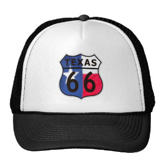 Route 66 Texas Color Trucker Hat