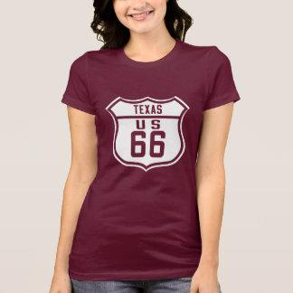 Route 66 - Texas T-Shirt