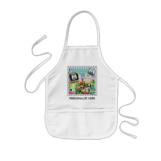 Route 66 - The Mother Road Baby Bibs Kids' Apron