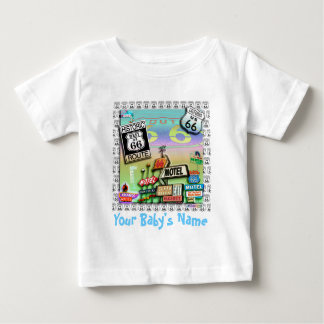 ROUTE 66 - The Mother Road BABY TEES