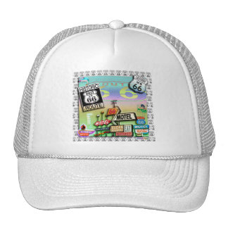 ROUTE 66 - The Mother Road HATS & CAPS
