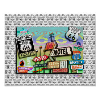 ROUTE 66 - The Mother Road POSTERS & FINE ART