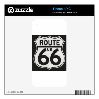 Route 66 - The Mother Road Skin For iPhone 4S