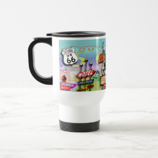 ROUTE 66 - The Mother Road Travel Mug
