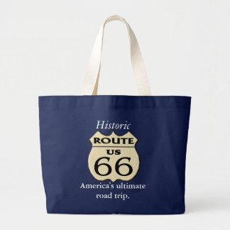 Route 66 -tote bag