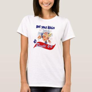 Route 66 Travel Fun Retro Shirt Get Your Kicks on