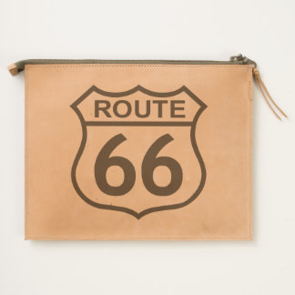 Route 66 travel pouch