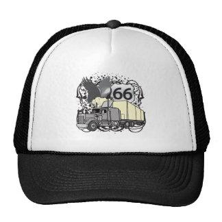 Route 66 Trucker Trucker Hats
