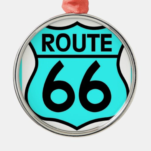 route 66 turquoise ornament