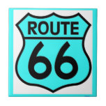 route 66 turquoise tiles