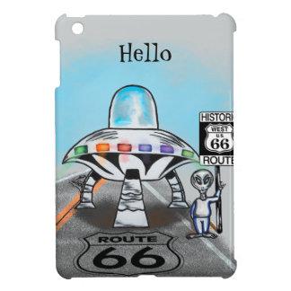 Route 66 UFO gifts iPad Mini Covers