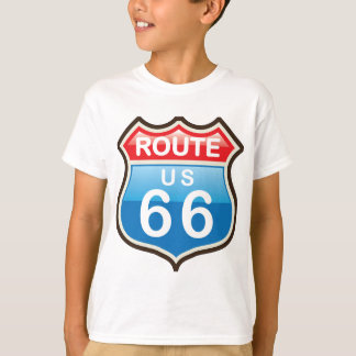 Route 66 vector sign T-Shirt