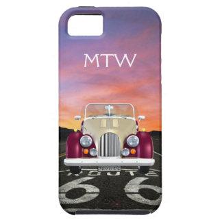 Route 66 - Vintage Morgan ... iPhone SE/5/5s Case