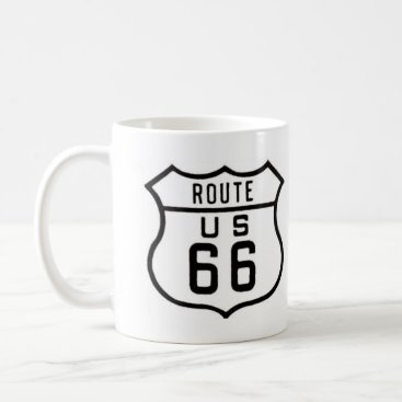 Rebecca_Reeder Route 66 Vintage Sign Coffee Mug
