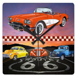Route 66 Wall Clock - SRF