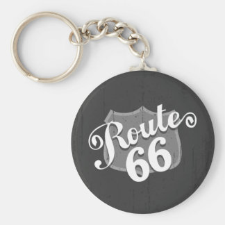 Route 66 Weatherboard Keychains