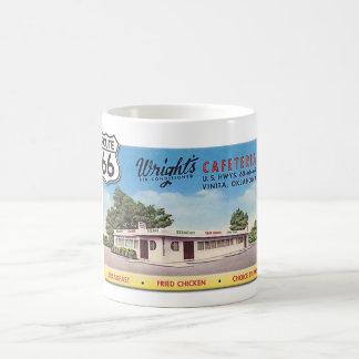 Route 66 Wright's Cafeteria Coffee Mug