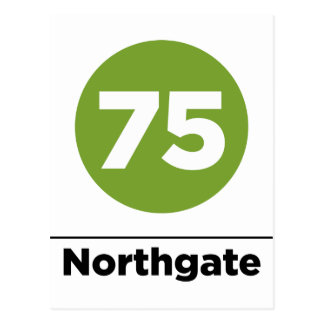 Route 75 Northgate Postcard