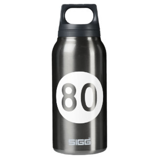 Route 80, Kentucky, USA Insulated Water Bottle