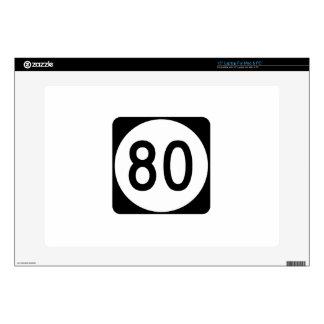 "Route 80 Kentucky USA 15"" Laptop Decal"