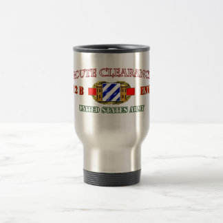 ROUTE CLEARANCE 3rd ID Travel Mug