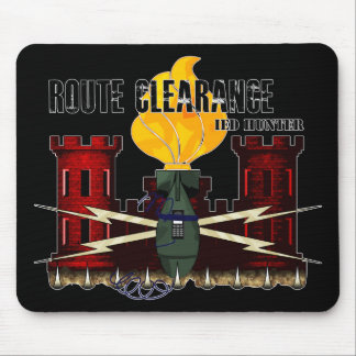 Route Clearance IED HUNTER Mouse Pad