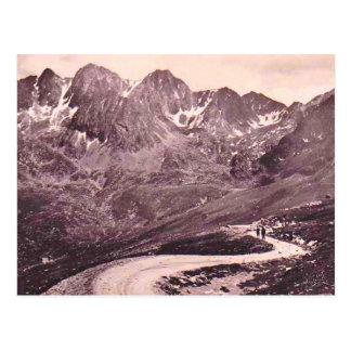 Route d'ANDORRE  Cirque de Font-Negre  1910 Postcard