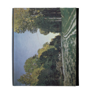 Route de Chailly Fontainebleau 1864 oil on canv iPad Cases