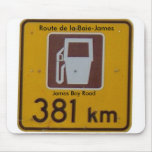 Route de la Baie-James, James Bay Road Mouse Pad