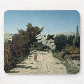 Route de la Gineste, near Marseilles, 1859 Mouse Pad